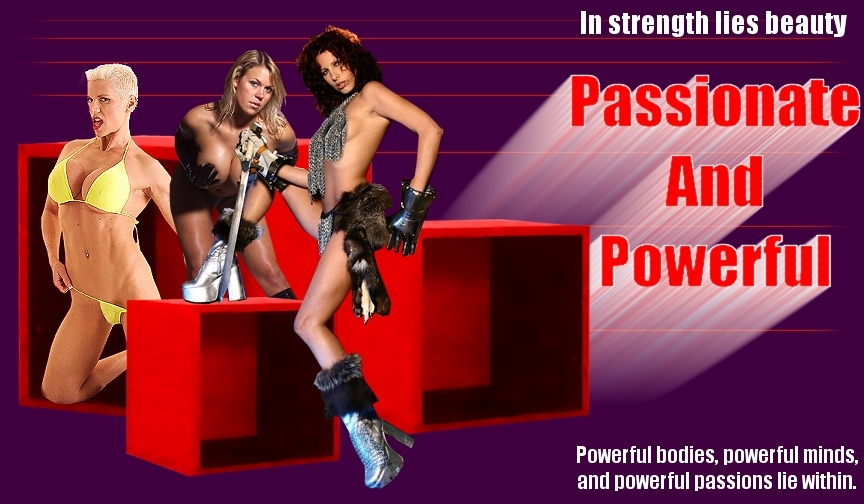 Passionate and Powerful Phone Sex page header.